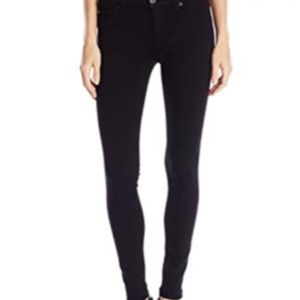 Hudson | black straight leg jeans jeggings